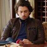Fazilet Hanım ve Kızları Kıyafetleri 24. Bölüm Alp Navruz Sinanın deri ceketi hangi marka