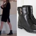 Fi Çi dizisinde Durunun siyah elbise ile giydiği siyah botlarının markası İlvi