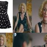 Meryem dizi Kıyafetleri Derin puantiyeli siyah elbise markası Forever New