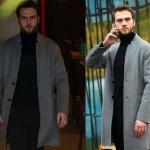 Çukur Aras Bulut İynemli Yamaçın giydiği siyah triko kazak Yamaç siyah pantolon Yamaç postal ve Yamaçın giydiği gri palto
