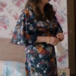 Çukur Selimin karısının giydiği çiçek desenli elbise