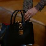 Dolunay Dizisi son bölüm kıyafetleri Demet'in siyah çantası H&M marka