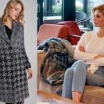 Dolunay dizi kıyafetleri Demet kareli kabanın markası ADL marka