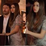 Fazilet Hanım ve Kızları dizisinin son bölümünde Ecenin lansmanda giydiği gümüş rengi elbisenin markası En Moda Davet