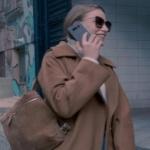 Fi Çi Kıyafetleri 5. Bölüm Durunun kahve rengi omuz çantası Maeradesignistanbul