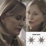 Hazım Egemn'in eski karısının taktığı yıldız küpe markası Urban Queen