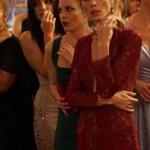Pelin'in yılbaşı partisinde giydiği bordo elbise nereden