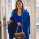 Ufak Tefek Cinayetler Merve mavi kaban markası Marella