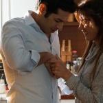 Ufak Tefek Cinayetler Serhan Kıyafetleri Serhan'ın beyaz gömleği ve kombini Ramsey'den