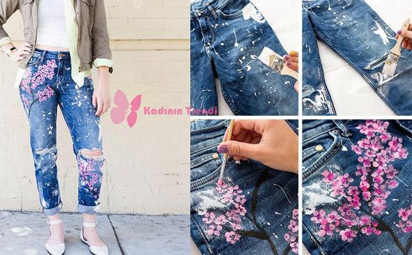 4 Eski Kıyafetlerden Geri Dönüşüm Fikirleri Kot pantolon yenileme