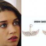 Fazilet Hanım ve Kızları Ece'nin melek küpeleri Urban Queen marka