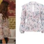 Fazilet Hanım ve Kızları Ece çiçek desenli bluz Forever New marka