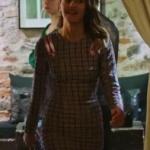 Fazilet Hanım ve Kızları Nil kareli elbise hangi marka