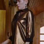 Fazilet Hanım ve Kızları Yasemin Kıyafetleri Yasemin parlak bakır rengi gömlek nereden