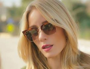 K7 Ufak Tefek Cinayetler Pelinin güneş gözlükleri Turkuaz Optikten