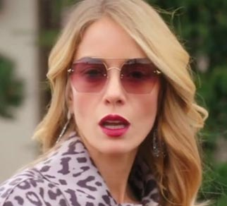K8 Ufak Tefek Cinayetler Pelinin güneş gözlükleri Turkuaz Optik