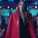 Çukur Kıyafetleri 12. Bölüm Dilan Deniz Çiçek Sena kırmızı deri ceket hangi marka Esra Gürses
