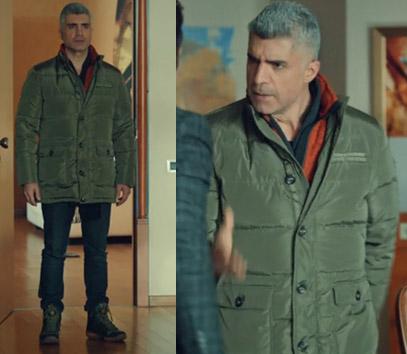 Faruk tarçın rengi ceket : Columbia Sportswear Faruk siyah pantolon : Columbia Sportswear Faruk ayakkabı : Columbia Sportswear