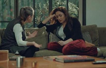 İstanbullu Gelin kıyafetleri 34. Bölüm Begüm bordo pantolon By People Fabrika