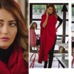 Fazilet Hanım ve Kızları Kıyafetleri Bölüm 34 Nil kırmızı Kiyafet roxxcaracca