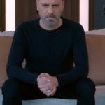 Fi Çi 8. Bölüm Can Manay Ozan Güven siyah triko Siyah pantolon markası