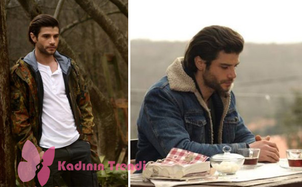 Gülizar 5. Bölümde Murat'ın giydiği kamuflaj montunun markası araştırılıyor. Murat'ın son bölümde giydiği içi peluş kot montu Levis marka.