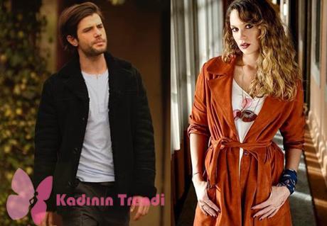 Gülizar'ın dizi tanıtımında ve bölümlerde giydiği turuncu deri mont ve Murat karakterinin 5. bölümde giydiği siyah süet mont markaları Desa.