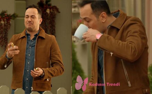 Jet Sosyete dizisinde Ozanın giydiği kahve rengi ceketin markası