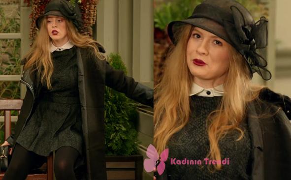 Alara'nın dizinin başından beri giydiği siyah kıyafetlerinin markası Tuval Kostüm.
