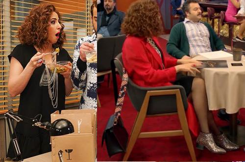 Jet Sosyete son bölüm Pelin Kıyafetleri Pelinin 6. bölümde giydiği leopar desenli ayakkabısı siyah elbisei ve pelinin kırmızı ceketi nereden Jet Sosyete Pelin Kombinleri web sitemizde.
