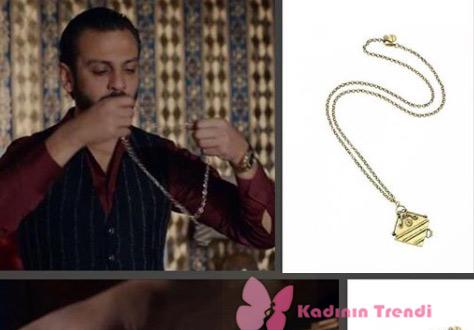 Çukur 19. bölümde Vartolu'nun taktığı kolye Bendis Takı marka