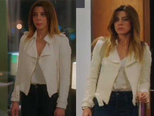 Ufak Tefek Cinayetler Kıyafetleri 23. ve 24. Bölümler Oya kıyafetleri Oyanın giydiği beyaz ceket nerden