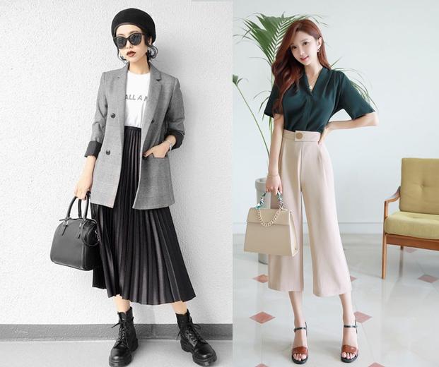 Kore iş kadınlarının ne giydiğine. Şimdi kore tarzı ofis kombinleri