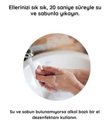 Koronavirüs Türkiyeye Geldi. Korona virüsünden korunmak için neler yapabiliriz 1