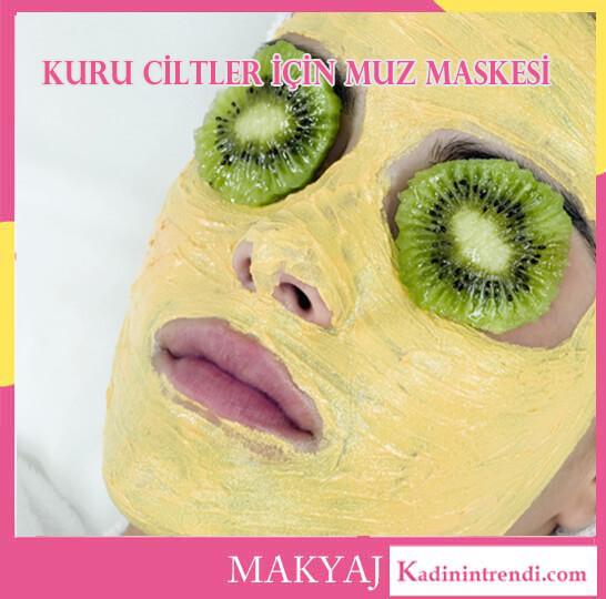 10 Pratik Bakım Maskesi Evde Cilt Bakımı kuru ciltler için muz maskesi 1