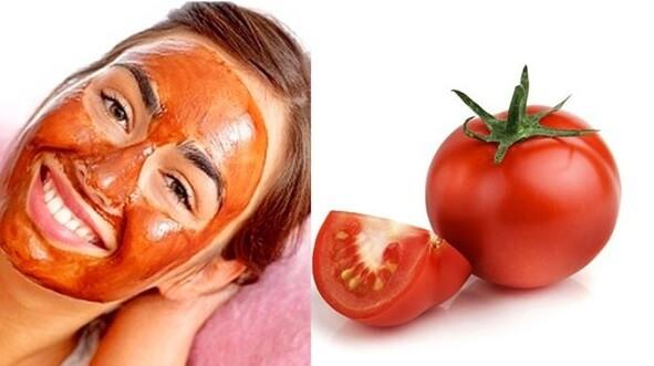 Evde Cilt Bakımı domates maskesi