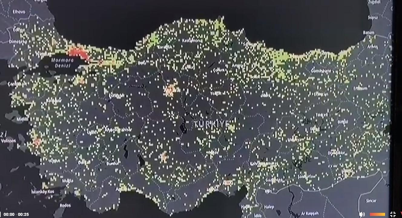 Türkiye corona virüs haritas-1 ı