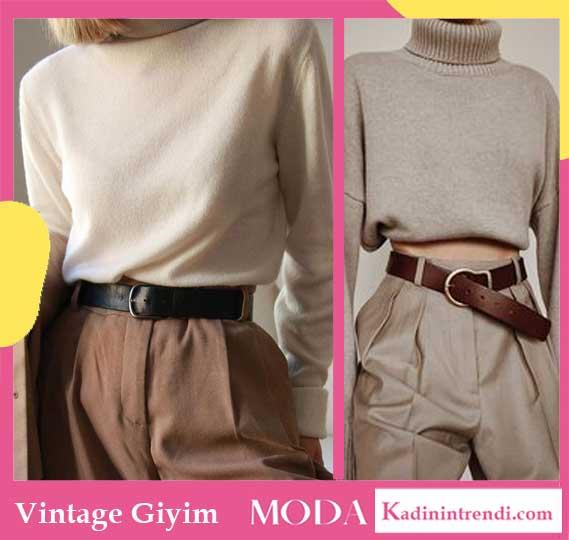 Vintage ne demek? Vintage giyim tarzı nedir? Vintage kombin önerileri gibi konularda kendinize sorular soruyorsanız, doğru sayfadasınız.