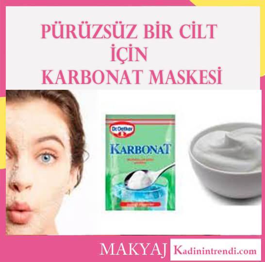 evde cilt bakımı karbonat maskesi 1