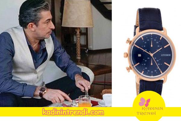 Cihan Gürpınar'ın taktığı saat Momentus markadır.